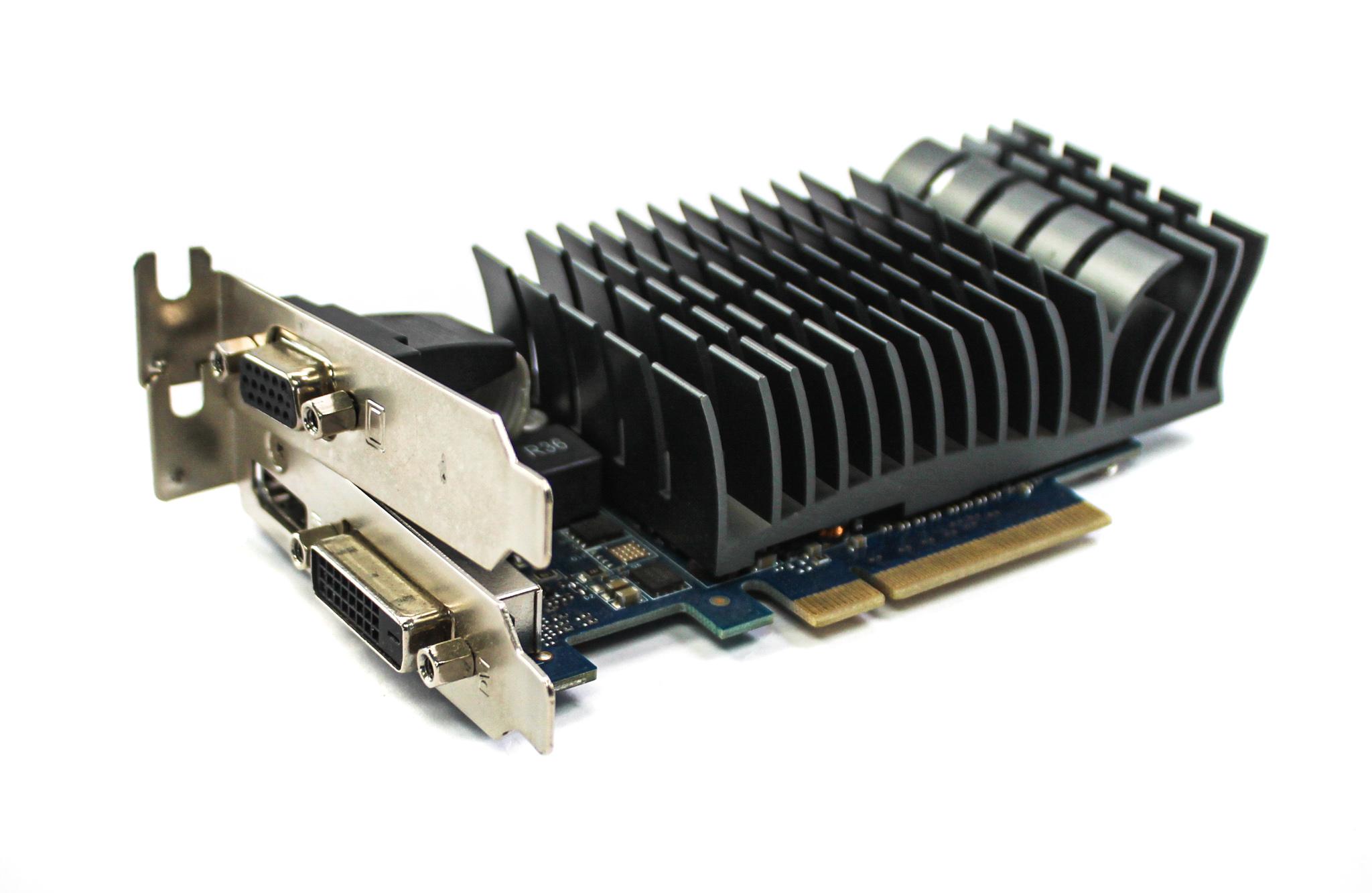 GT730-SL-2GD3-BRK Asus GeForce GT730 2GB PCIe VGA/HDMI/DVI LP Graphics Card